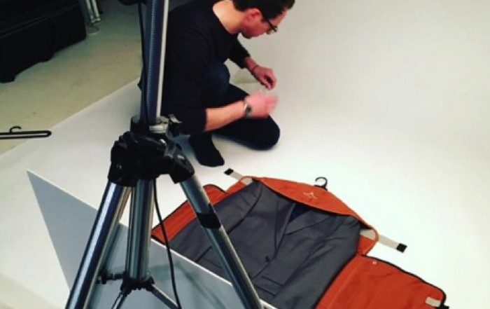 Photography: Charlie Surbey at work