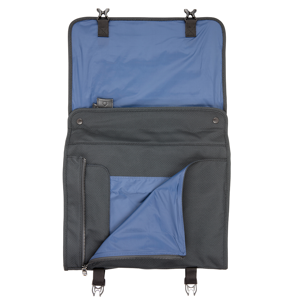 Shirt Pocket on PLIQO Carry-On Blue Lining Bag