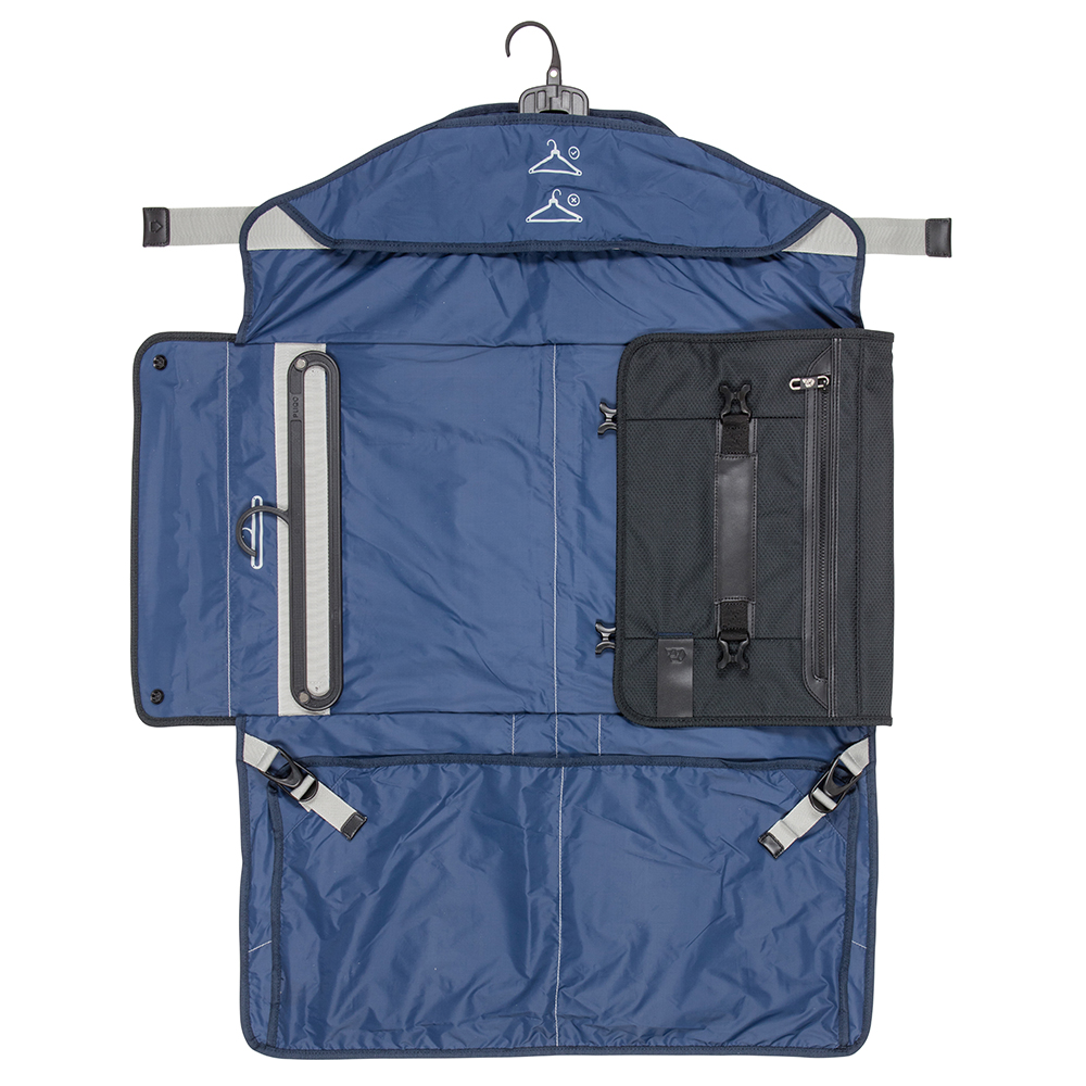 PLIQO Carry-On Blue Lining Bag