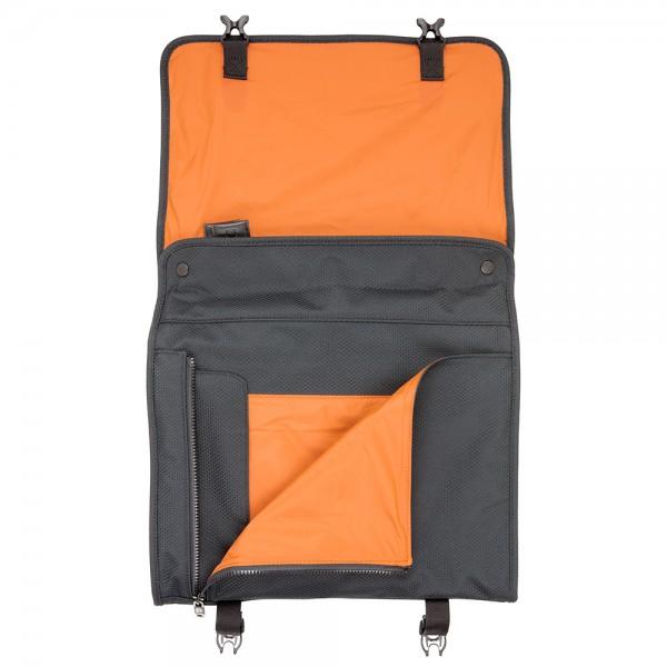 Shirt Pocket PLIQO Carry-On Orange Lining