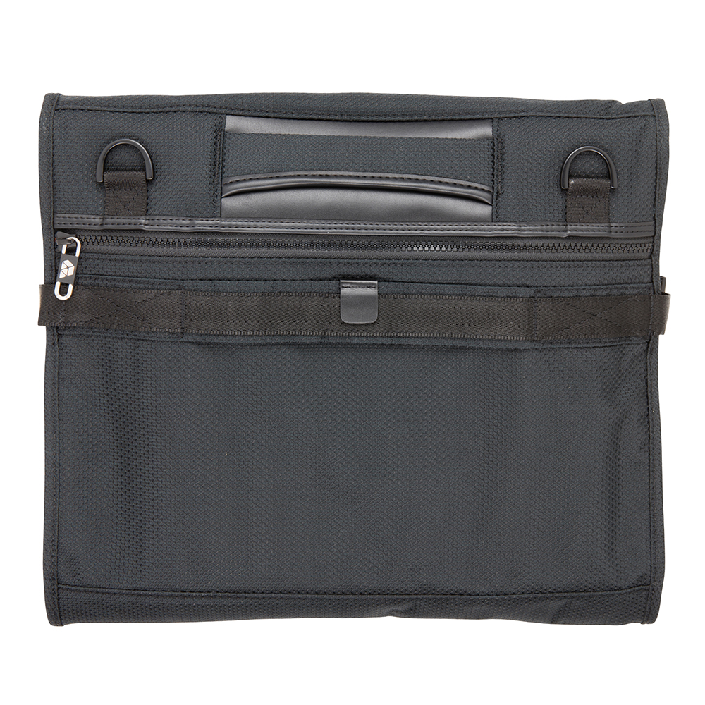 Back View of PLIQO Carry-On Blue Lining