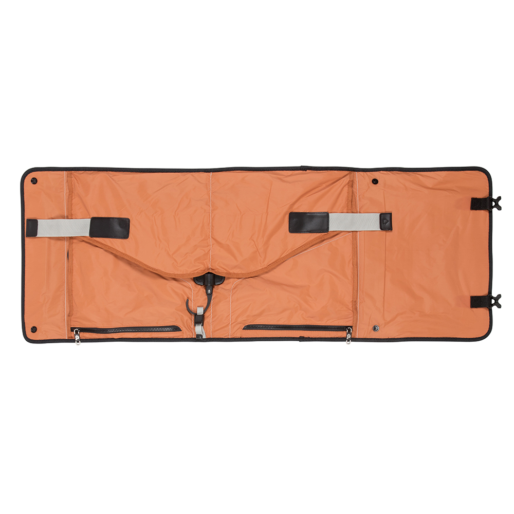 Detail of the PLIQO Carry-On Orange Lining